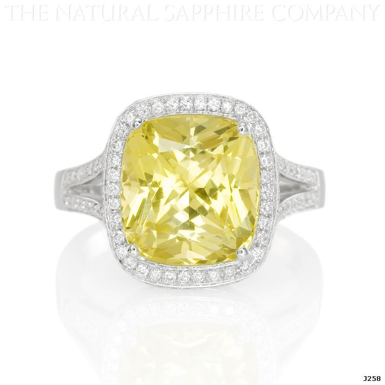Uncut Yellow Sapphire Yellow Sapphire Engagement