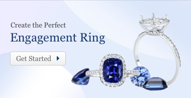Create e-rings with blue sapphires.