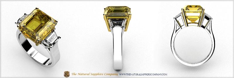 Custom Yellow Sapphire Rings 1