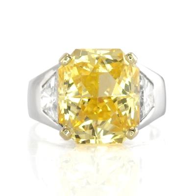 Yellow Sapphire Ring View 2