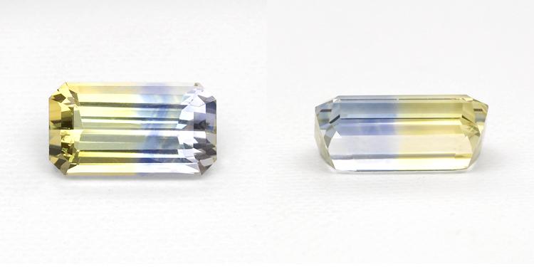 Bi Colored Sapphire