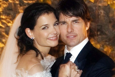 Tom Cruise and Katey Holmes Wedding photos
