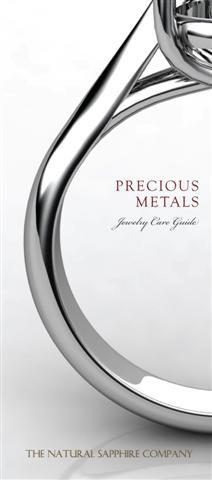 Precious Metals Sapphire Ring