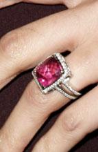 Nicole Richie's Sapphire engagement ring to ex-fiance DJ AM
