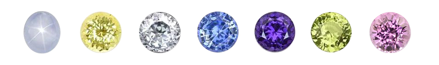 Natural Untreated Sapphires of all Colors