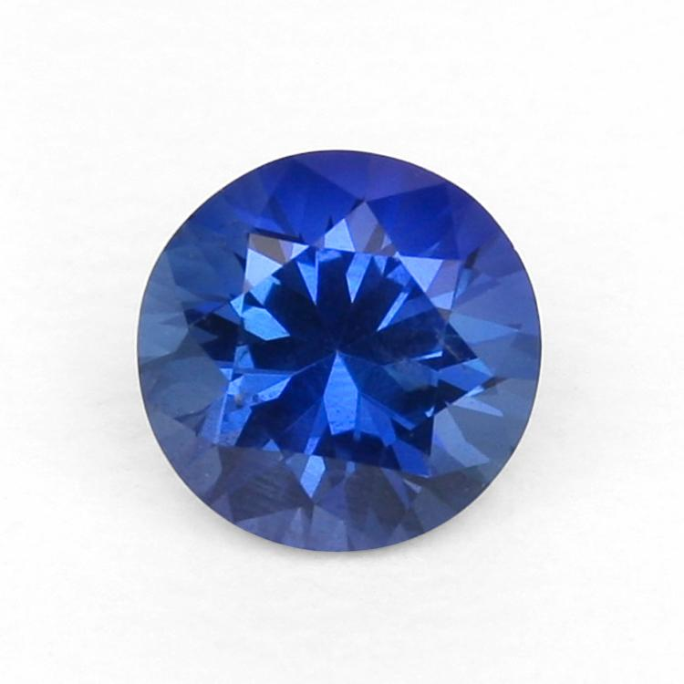 Natural Untreated Round Blue Sapphire