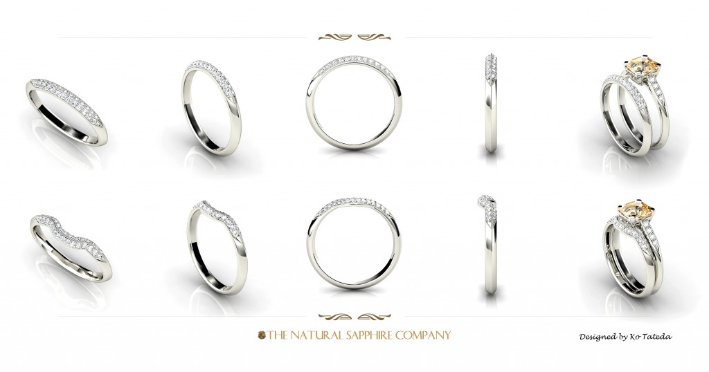 platinum designs tone cut two wedding star sparkle gold band rings a palladium bands design diamond aurus and ring