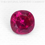 Natural unheated ruby