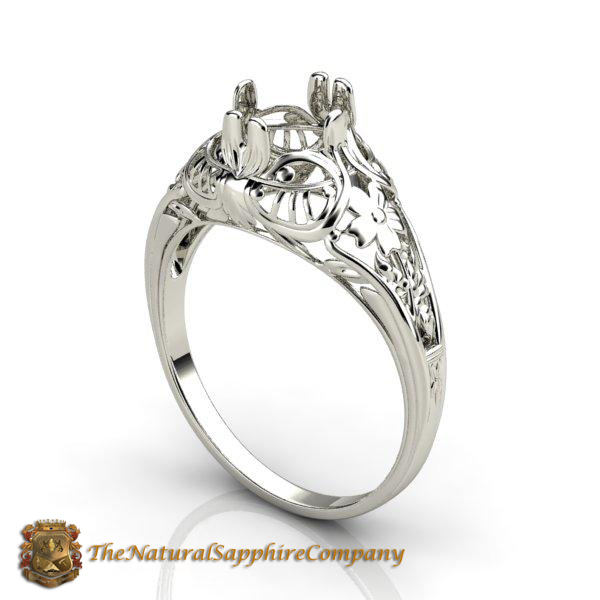 Sapphire Ring setting