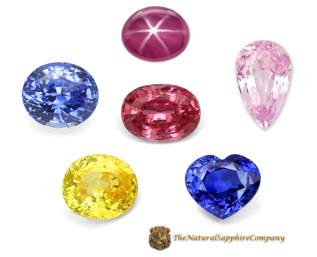 Natural Untreated Blue, Yellow, Pink, Unique, and Star Sapphires