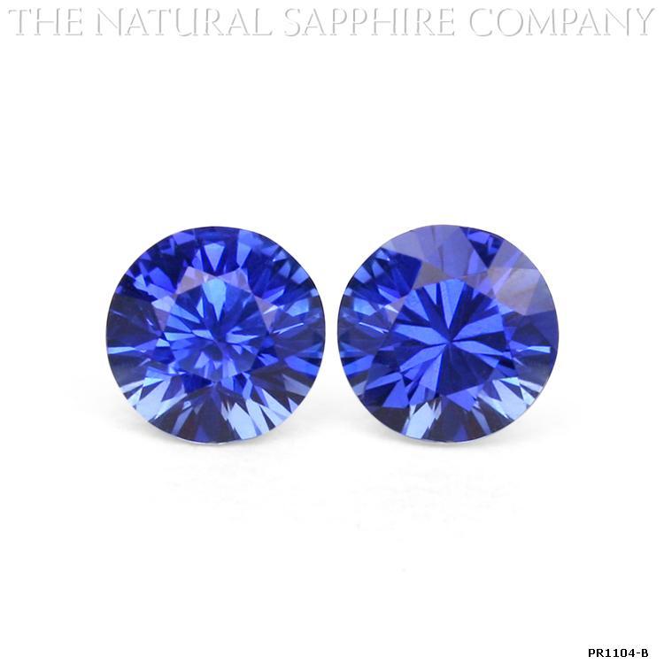 Natural Blue Sapphire Pairs