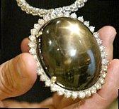 black star sapphire pendant