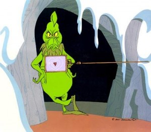 grinch and the heart