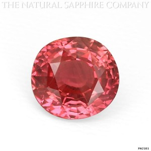 natural padparadscha sapphire