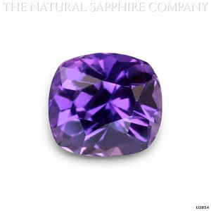 natural purple unique sapphire