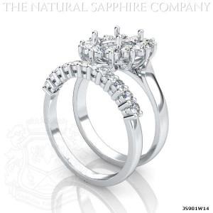 sapphire ring setting