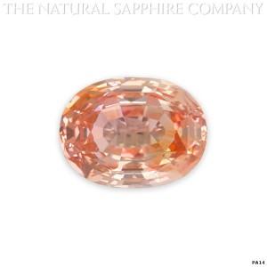 big padparadscha sapphire