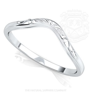 Curved Ring Band