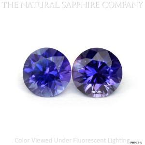 Color-Change Sapphire Pair PR982-U