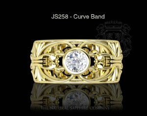 curved band