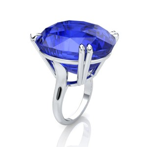 rendered image of the blue sapphire ring