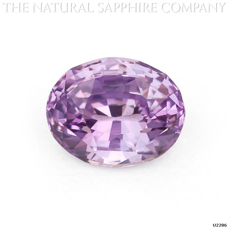 U2286 is a gorgeous Natural Oval Violet Sapphire