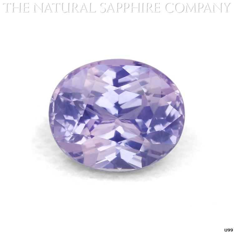 U99 is an alluring Natural Oval Purple Sapphire