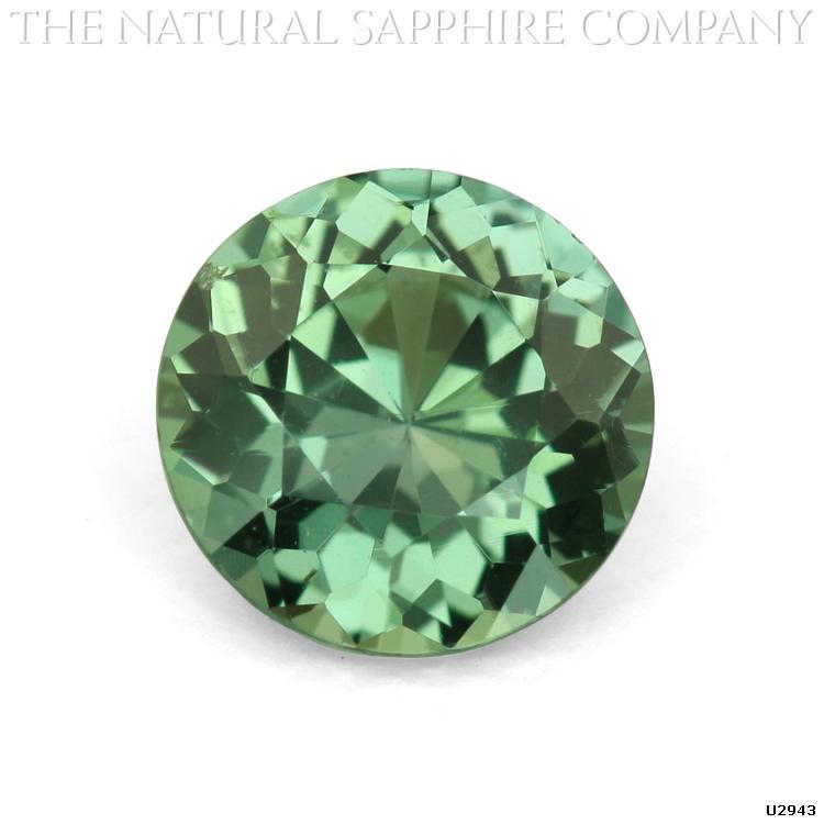 round-green-sapphire