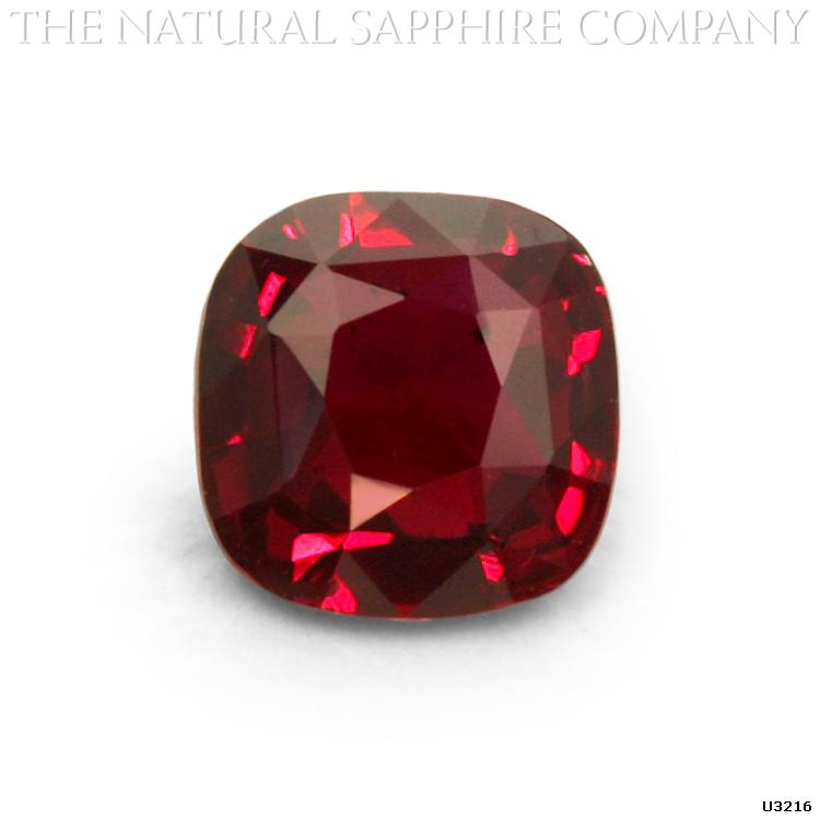 Natural Untreated Cushion Cut Ruby