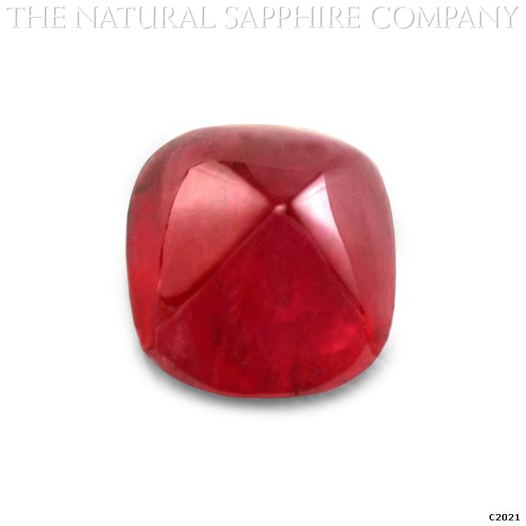 C2021 A Stunning 4.11ct Natural Untreated Ruby Cabochon