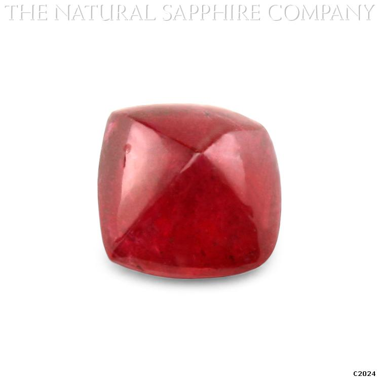 C2024 A Beautiful 2.89ct Natural Untreated Ruby Cabochon
