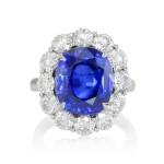Princess Diana blue sapphire Ring