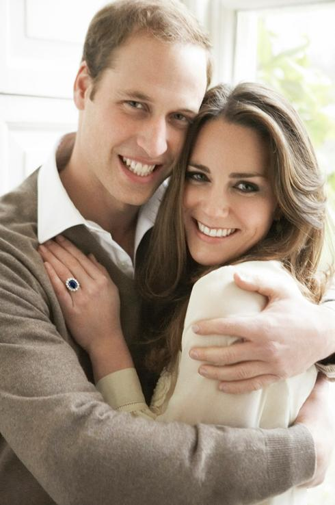 Will and Kate Engagement Sapphire Ring