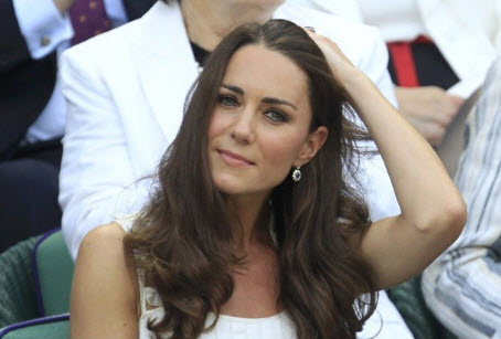 Kate Middletons Natural Blue Sapphire Earrings