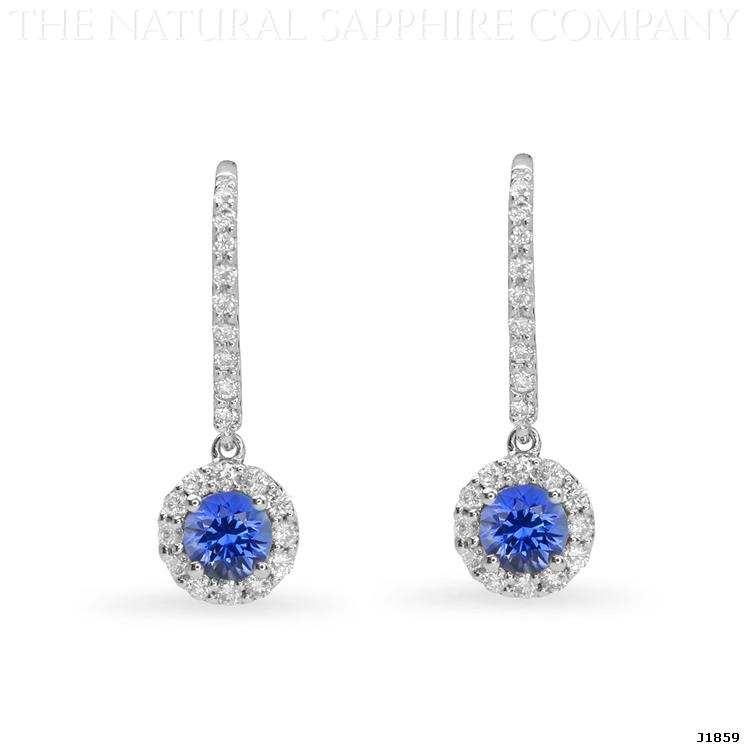 Natural-Untreated-Blue-Sapphire-and-Diamond-Earrings