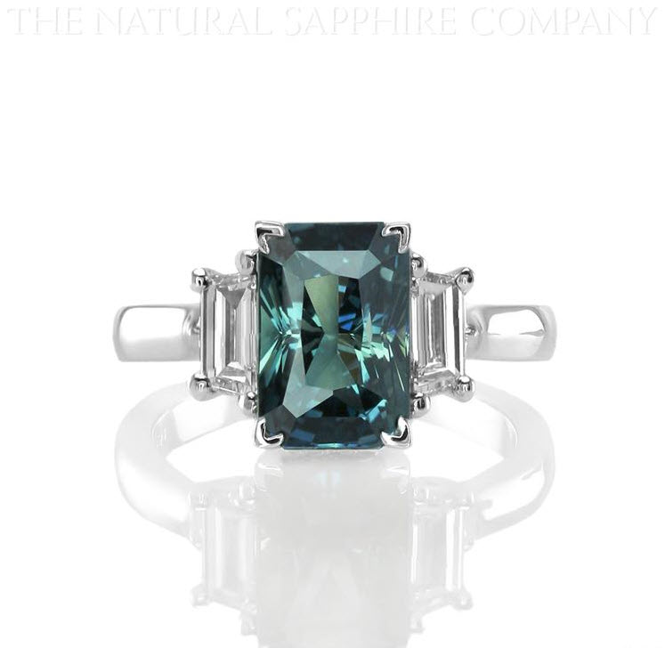 sapphire blue an montana rings of beautiful encrusted diamond no carat for against ring green fit engagement pops soft this a ocean heat that and has its
