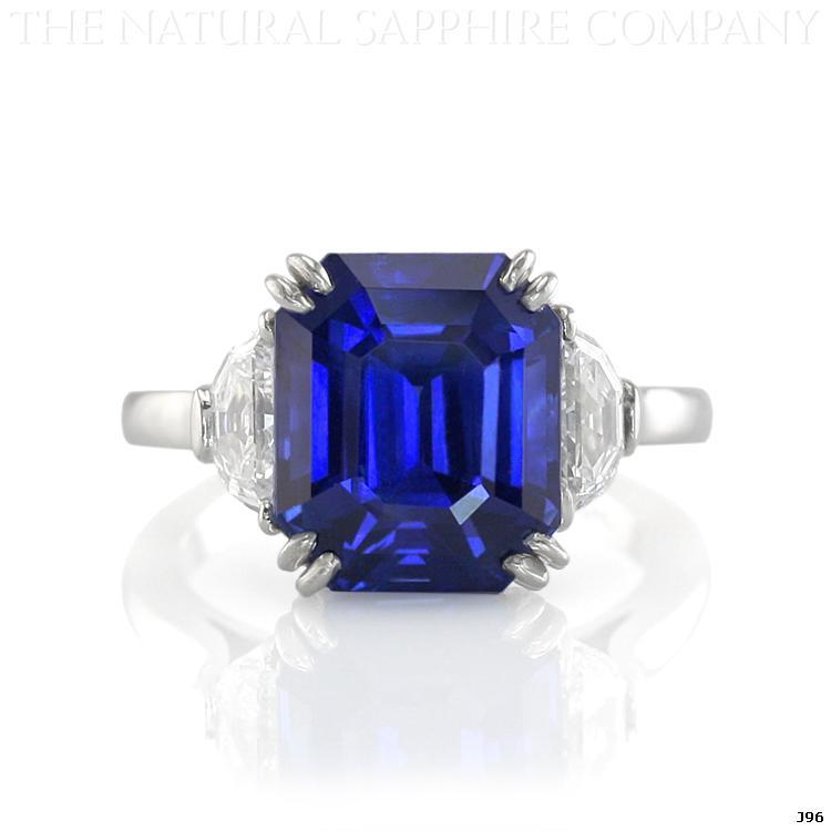Elizabeth Hurleys Blue Sapphire Engagement Ring