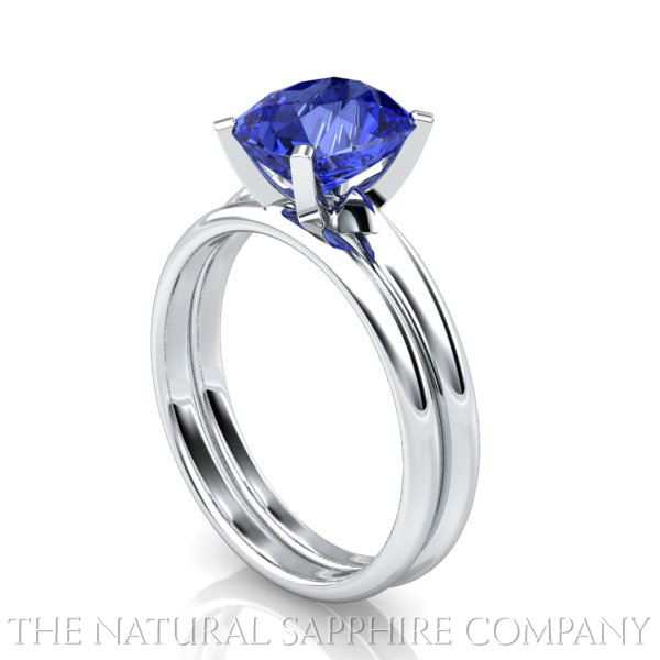 Natural Sapphire Rings and Matching Wedding Bands - The ...