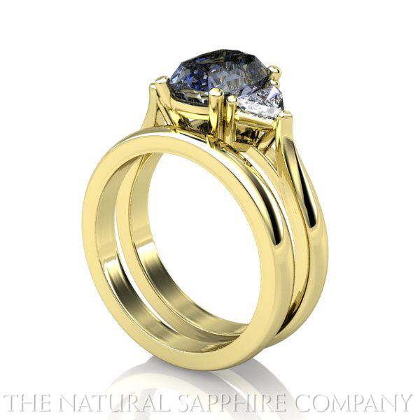 Natural Sapphire Rings and Matching Wedding Bands The Natural Sapphire p