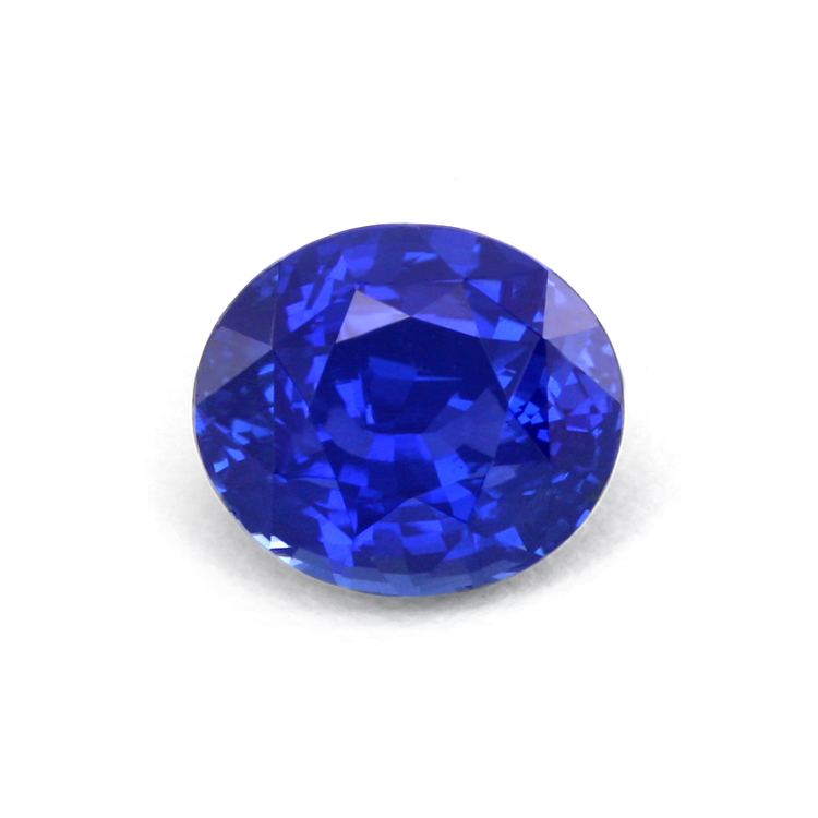 Natural Untreated Oval Blue Sapphire