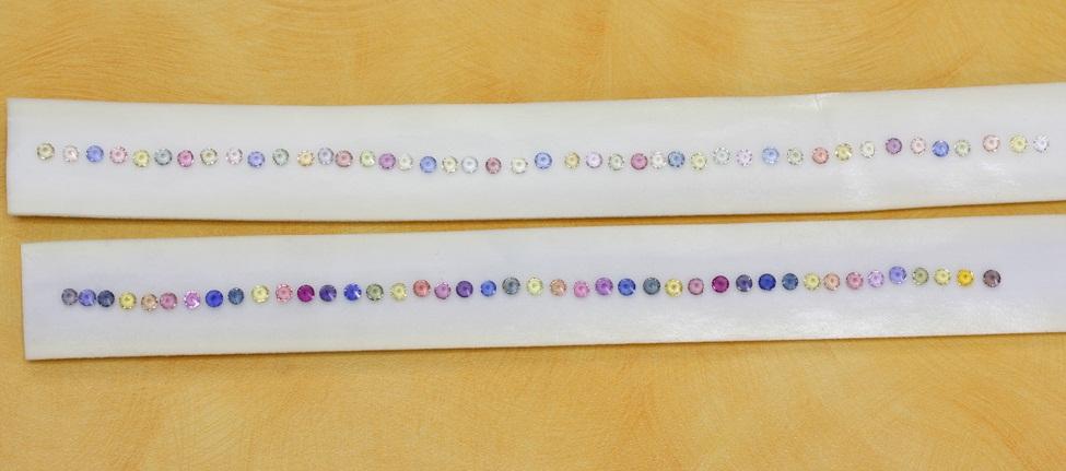 Colorful Sapphire Bracelets