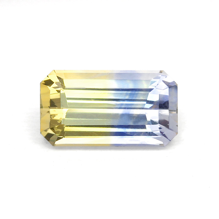 Natural Untreated Bi Color Sapphire