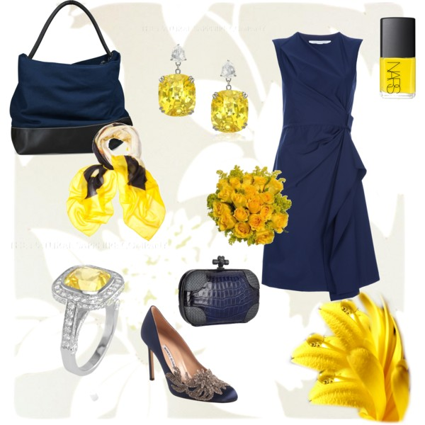 dresses and yellow sapphires