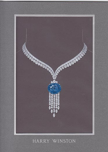 Proposed design by Harry Winston