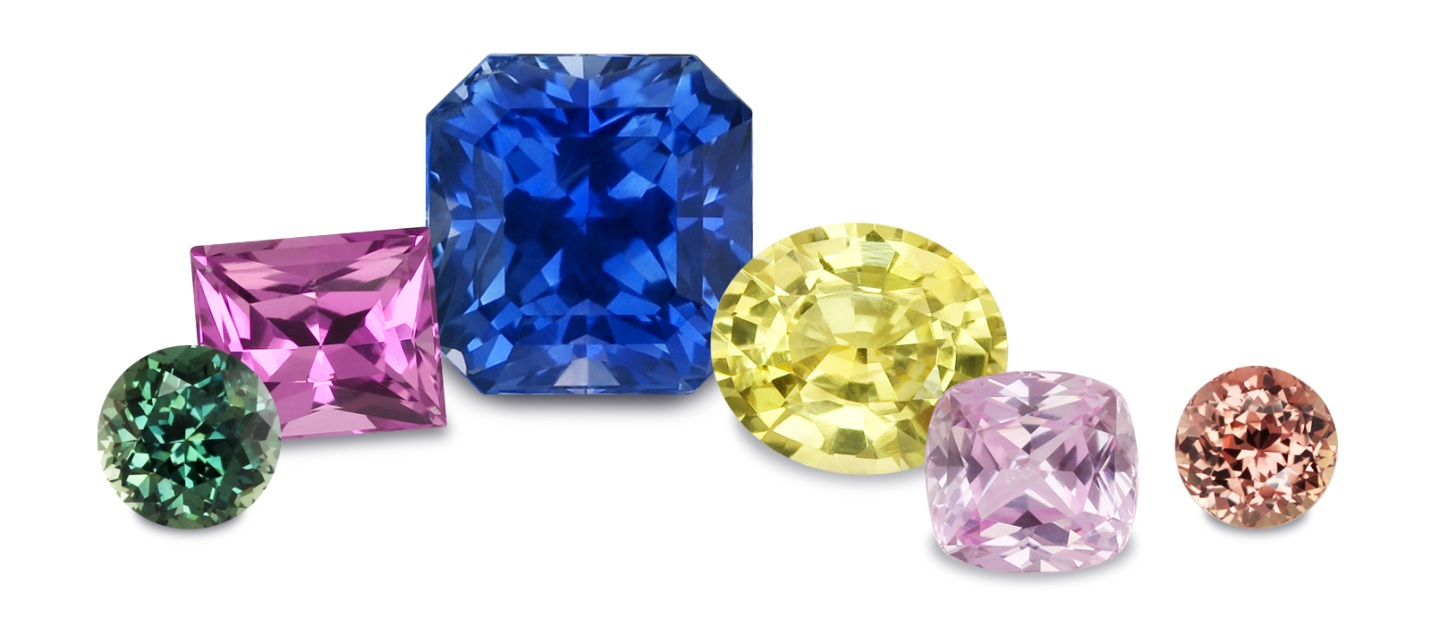 color gems by from the of supplier wholesale factory direct green shades sapphire navneet