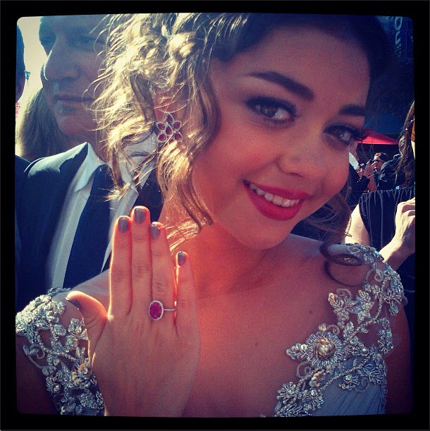 Pink Sapphires Rule At The Emmy Awards