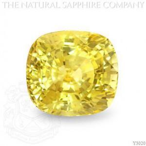Vivid Yellow Sapphire