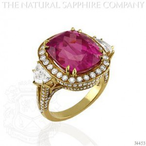 Pink Sapphire Cocktail Ring