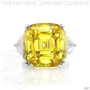 Yellow Sapphire Wedding Band 46 Popular Yellow sapphire cushion cut