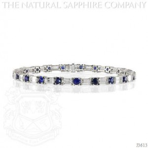 Natural_Sapphire_Jewelry_Bracelet_Round_Blue